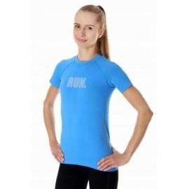 BRUBECK RUNNING AIR PRO koszulka damska niebieska