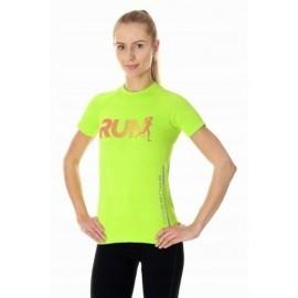 BRUBECK RUNNING AIR PRO koszulka damska neon