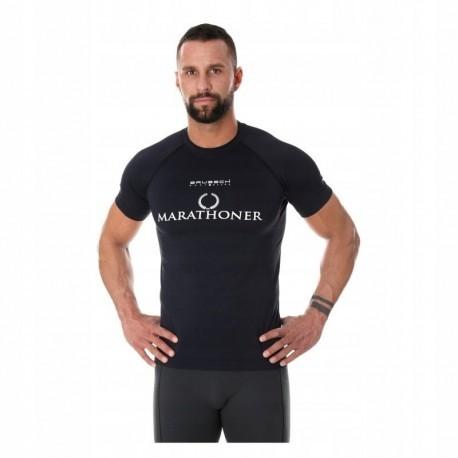 BRUBECK RUNNING AIR PRO koszulka męska czarna