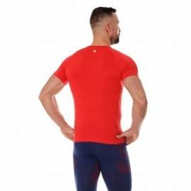 BRUBECK RUNNING AIR PRO koszulka męska czerwona