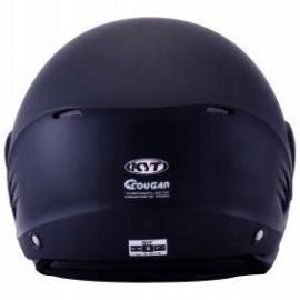 Kask motocyklowy KYT COUGAR czarny mat