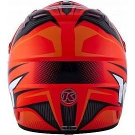 Kask motocyklowy KYT CROSSOVER POWER czerwony