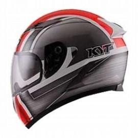 Kask motocyklowy KYT FALCON ALL SLIM czerwony