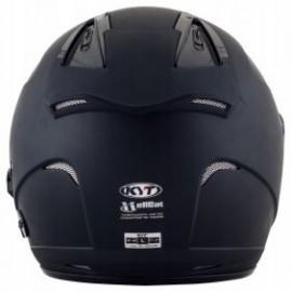 Kask motocyklowy KYT HELLCAT czarny matowy