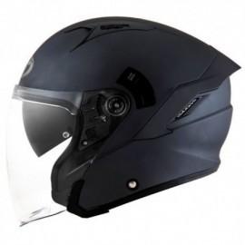 Kask Motocyklowy KYT NF-J matowy czarny
