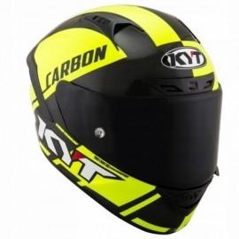 Kask Motocyklowy KYT NX RACE CARBON RACE-D żółty fluo
