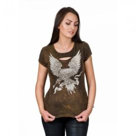 Choppers Division koszulka damska trawiona Freedom Eagle