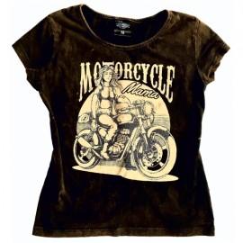 Choppers Division koszulka damska trawiona Motorcycle Mama