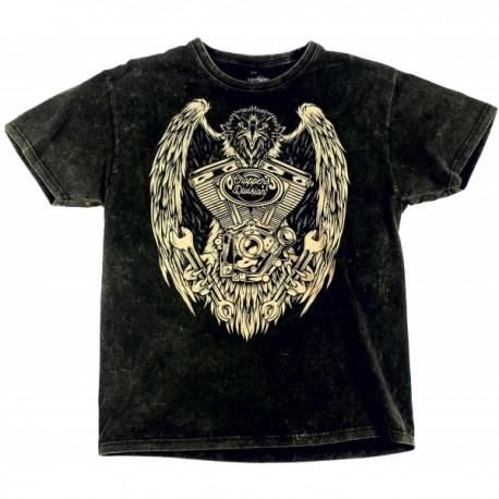 Choppers Division koszulka trawiona Eagle