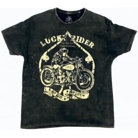 Choppers Division koszulka trawiona Lucky Rider