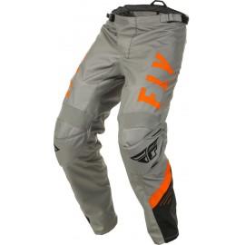 Spodnie cross/enduro FLY RACING F-16 kolor czarny/pomarańczowy/szary