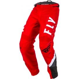 Spodnie cross/enduro FLY RACING F-16 kolor biay/czerwony/czarny