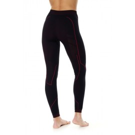 BRUBECK COOLER spodnie termoaktywne czarny amarant