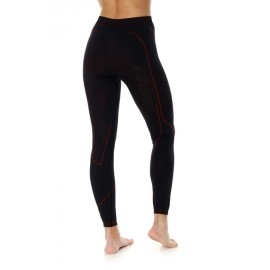 BRUBECK COOLER spodnie termoaktywne czarny-czerwony