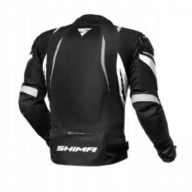 SHIMA MESH PRO Kurtka motocyklowa czarno-biała