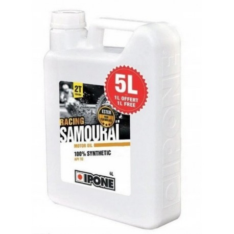 IPONE Samourai Racing 2T syntetyk truskawka 5l