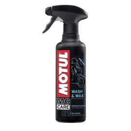 Środek czyszcząco-ochronny Motul E1 Wash & Wax 0,4L