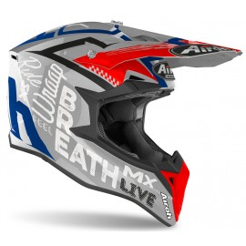 Kask Off-Road AIROH Wraap Street Grey Metal Gloss