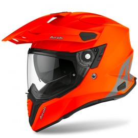 Kask integralny AIROH COMMANDER COLOR ORANGE FLUO MATT