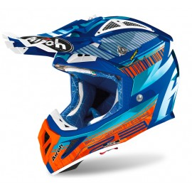 Kask AIROH AVIATOR ACE CHROME AZURE