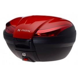 Kufer K-Max z płytą montażową czerwony 50L AW9068R