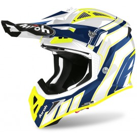 Kask Airoh Aviator Ace Art Blue Gloss