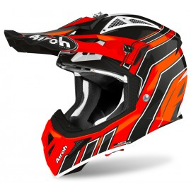 Kask Airoh Aviator Ace Art Orange Gloss
