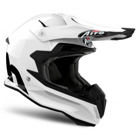 Kask Off-Road AIROH Terminator Open Vision White Glossy