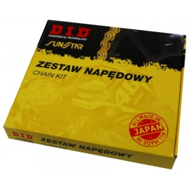 ZESTAW NAPĘDOWY DID525VX3 CB600F 07-13 HORNET