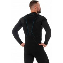 BRUBECK THERMO termoaktywna męska bluza ciepła czarna