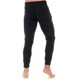 BRUBECK spodnie męskie dresowe czarne