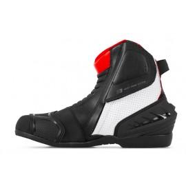 Miejskie buty motocyklowe krótkie SHIMA SX-6 czerwone