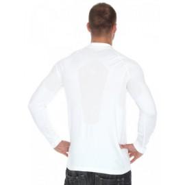 Brubeck LS10620 Koszulka polo PRESTIGE biała