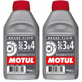 Płyn hamulcowy Motul DOT 3&4 samochodowy motocyklowy