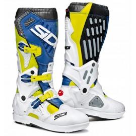 Buty SIDI ATOJO SRS niebieski żółte białe + GRATIS