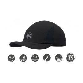 Buff szybkoschnąca czapka do biegania R-SOLID anty UV czarna