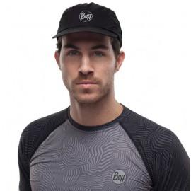 Buff szybkoschnąca czapka do biegania anty UV czarna