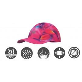 Buff szybkoschnąca czapka do biegania anty UV kolorowa