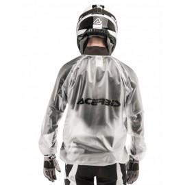 Przeciwdeszczowa kurtka ACERBIS enduro cross mx biała