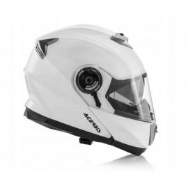 Kask szczękowy kask modułowy ACERBIS SEREL white