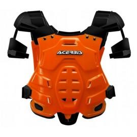 Buzer zbroja ochraniacz cross enduro quad acerbis pomarańczowa