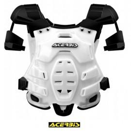 Buzer zbroja ochraniacz cross enduro quad acerbis biała
