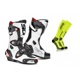SIDI MAG-1 sportowe buty motocyklowe białe GRATIS