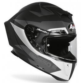 Kask Airoh GP550 S sportowy integralny czarno-szary + gratis
