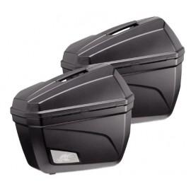Kufry boczne KAPPA K22 na motocykl 2x
