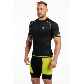 Męska koszulka Rowerowa CROSS SX zielona