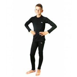 Dziecięca bielizna termoaktywna KRIS czarna