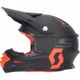 KASK SCOTT 350 PRO BLACK ORANGE cross