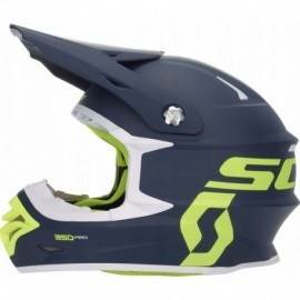 KASK SCOTT 350 PRO BLUE YELLOW cross