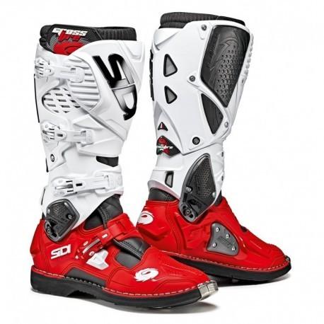 Buty SIDI CROSSFIRE 3 biało-czerwone